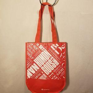 Lululemon small tote bag
